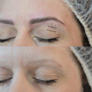 micropigmentare sprancene, microblading  & powder effect by Adele