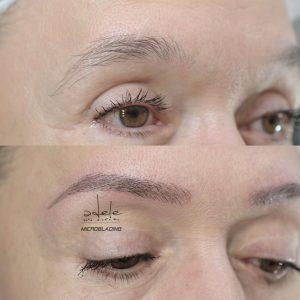 micropigmentare sprancene, microblading by Adele