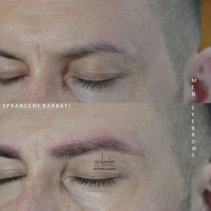 micropigmentare sprancene BARBAT, microblading by Adele