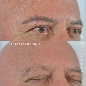 micropigmentare by Adele , sprancene barbat